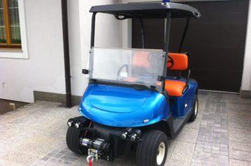 Golfwagen Folierung