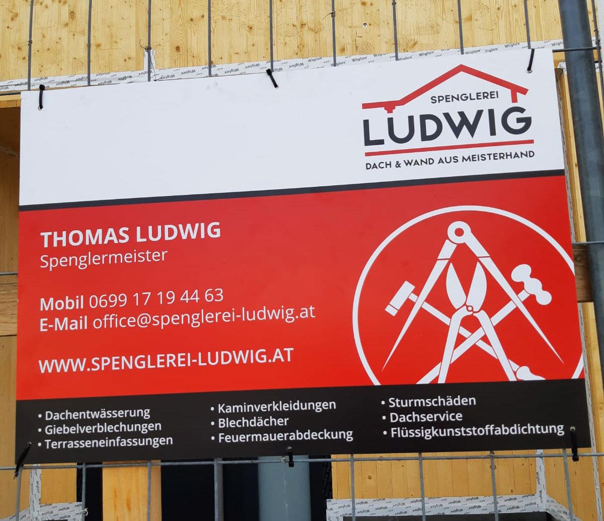 Hartschaumplatte Spenglerei Ludwig